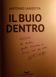 Il Buio Dentro, di Antonio Lanzetta