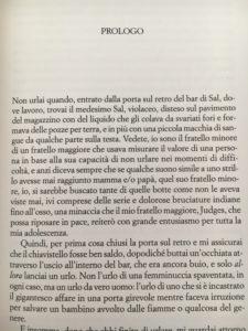 Prologo pagina 1 di Noir di Christopher Moore