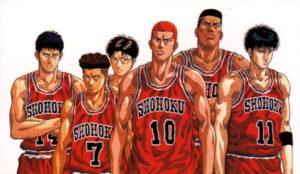 Slam Dunk: team Shohoku