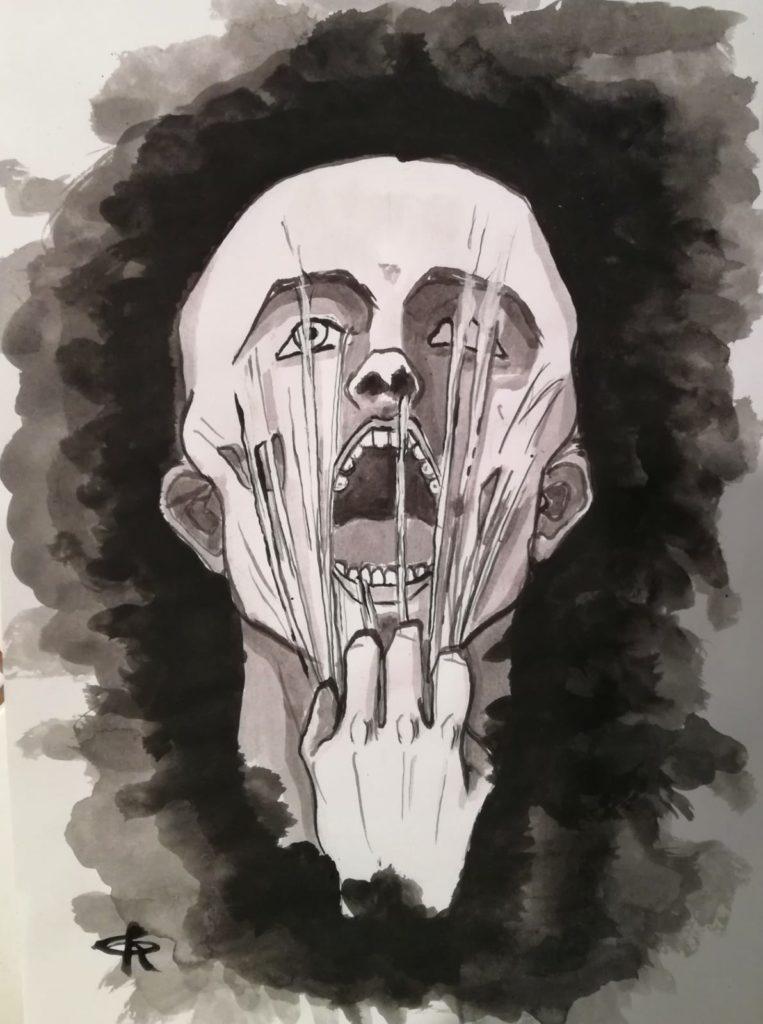 L'altro, illustrazione di Giulia Repetto