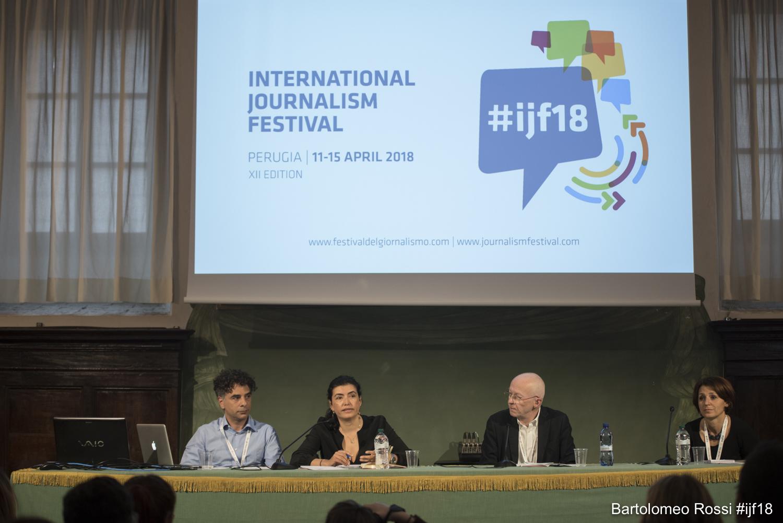 Messico - Cynthia Rodriguez al Festival del Giornalismo di Perugia