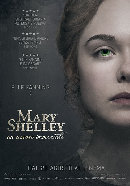locandina mary shelley