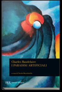 "copertina di "" paradisi artificiali "" di Baudelaire"