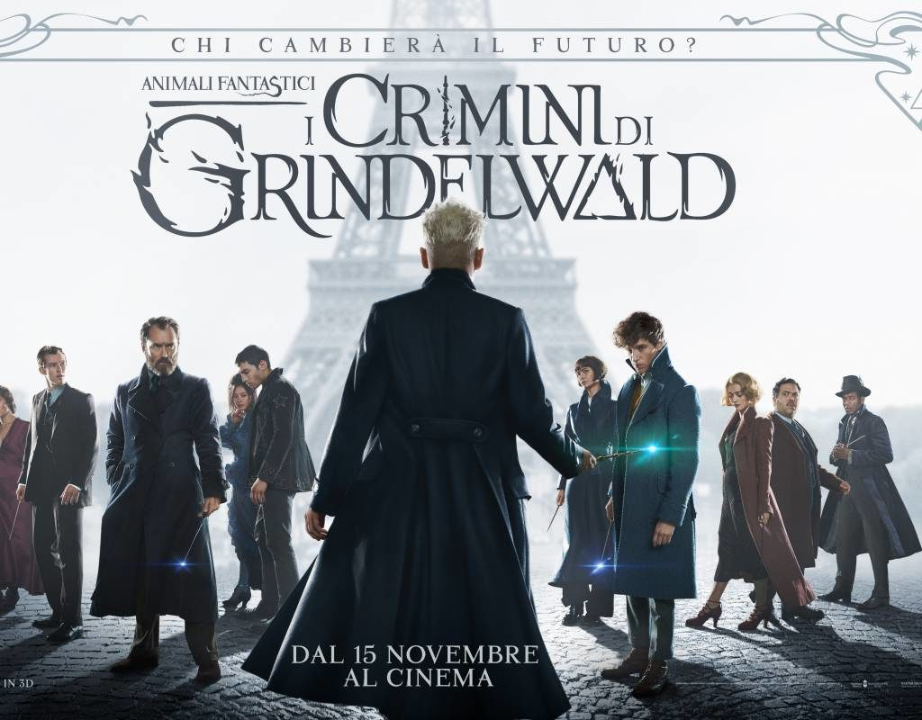 Copertina del film I crimini di Grinderwald