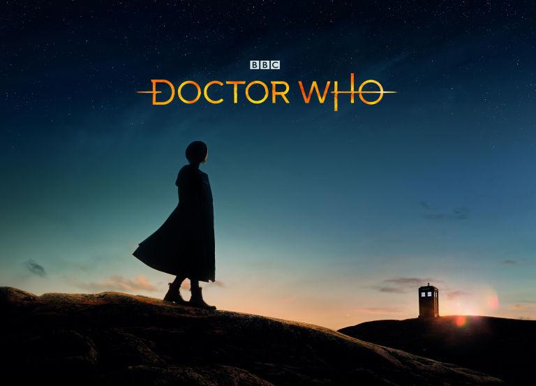Silhouette del tredicesimo Dottore e nuovo logo di Doctor Who