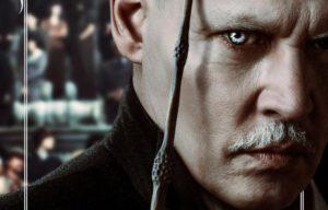 I Crimini di Grindelwald Jonny Depp nei panni di Grinderwald