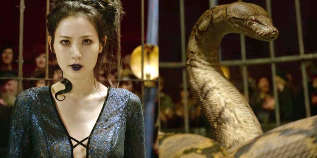 Il personaggio di Nagini ne I Crimini di Grindelwald ha suscitato polemiche per l'attrice che la interpreta essendo asiatica
