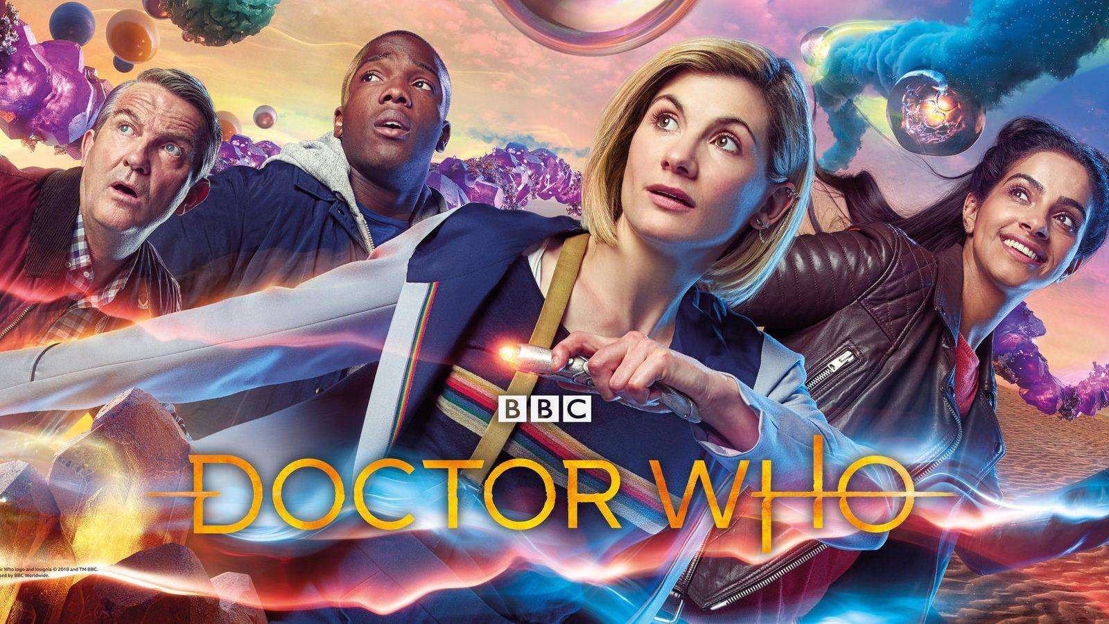 Copertina BBC per undicesima stagione di Doctor Who