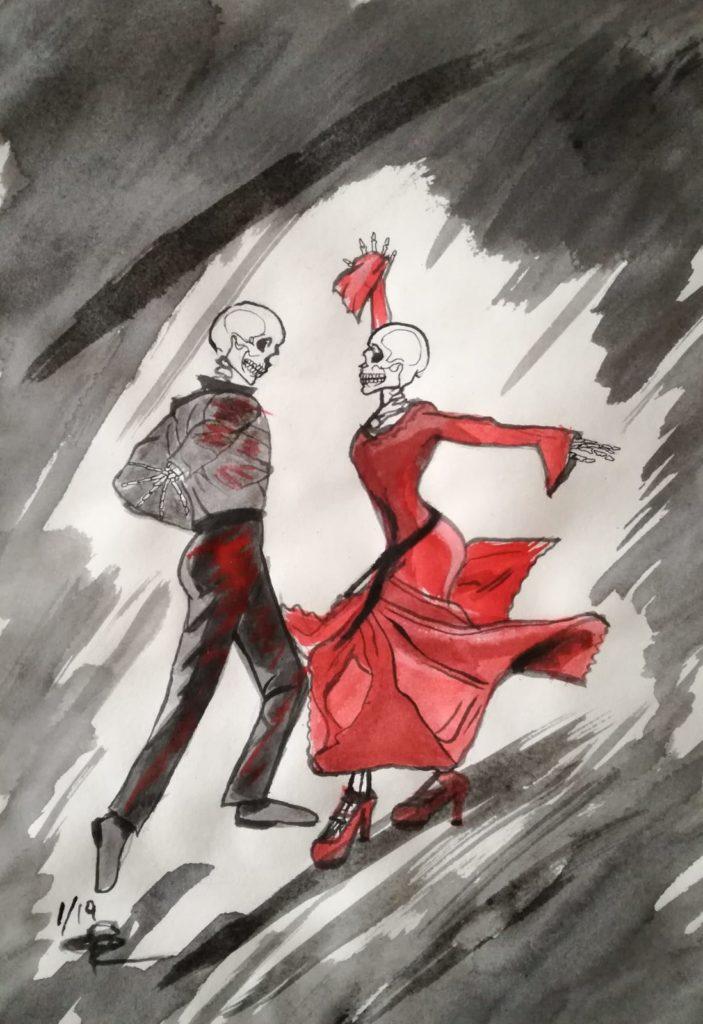 Zona d'ombra, illustrazione di Giulia Repetto