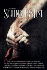 L'evocativa locandina originale di Schindler's List