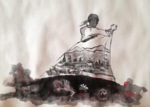 Le venti giornate di Torino, illustrazione di Giulia Repetto