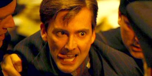 Il ghigno di Barty Crouch Jr in Harry Potter e il Calice di Fuoco, cortesia del volto di David Tennant