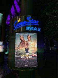 Vedere Once Upon a Time in Hollywood sullo schermo IMAX è stato come essere dentro il film!
