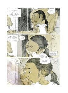 Una pagina del fumettodi Tony Sandoval