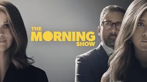 locandina di the morning show , la serie di punta di apple tv+
