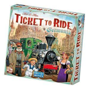 scatola ticket to ride party game per capodanno