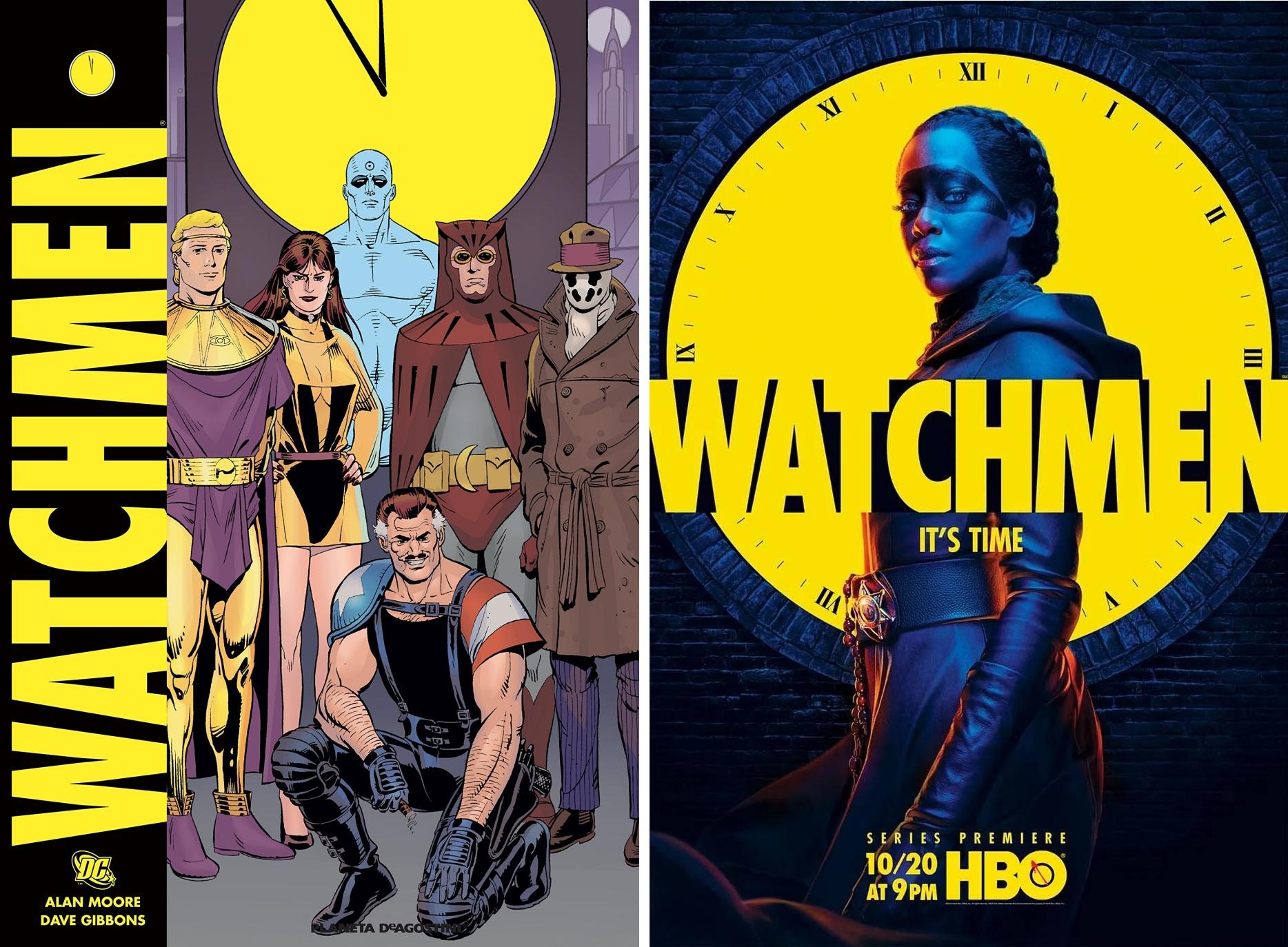 Watchmen: dal fumetto alla serie