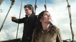 James e Amelia durante l'ascesa scoprono le meraviglie del cielo