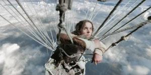 Il coraggioso personaggio interpretato da Felicity Jones è di fantasia, ma ispirato a vere pioniere dei cieli