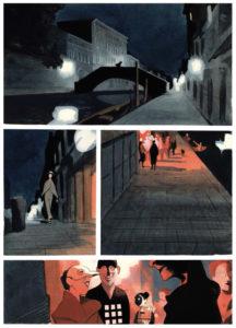 Celestia - Manuele Fior - L'ispirazione per la città è chiaramente Venezia