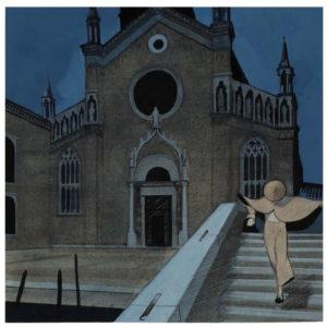 Celestia - Manuele Fior - Uno scorcio della città, che ci mostra come l'ispirazione sia Venezia