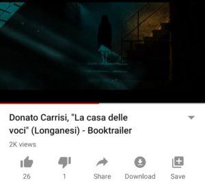 La Casa delle voci di Donato Carrisi - Book Trailer