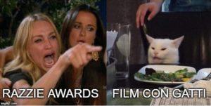 razzie awards 2020 e gatti