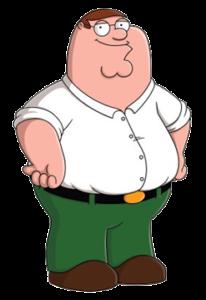Peter Griffin - peggiori padri nelle serie tv