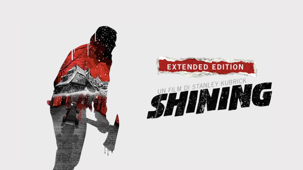The Shining - Locandina dell'edizione home video estesa
