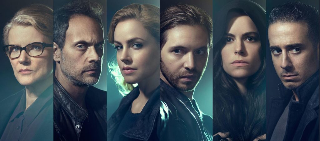Il cast principale di 12 monkeys serie tv