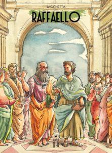Raffaello Sanzio copertina del fumetto a lui dedicato