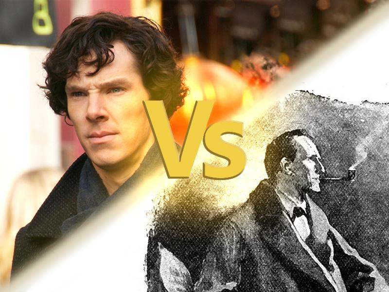 serie tv tratte da libri - Sherlock Holmes
