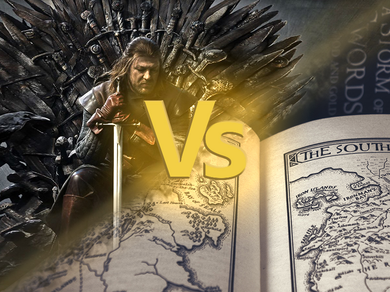 serie tv tratte da libri - Game of thrones e a song of ice and fire