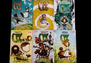 I sei volumi della saga de Il meraviglioso mago di Oz