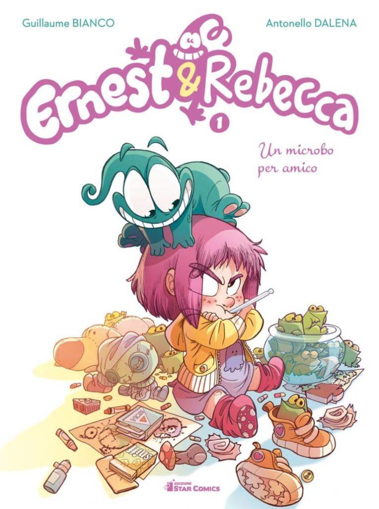 Ernest e Rebecca - copertina