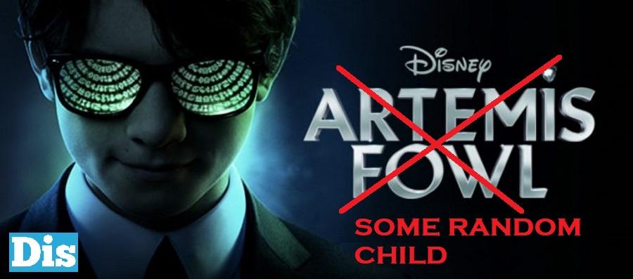 Poster orizzontale Artemis Fowl corretto perché non c'entra nulla con il libro da cui è tratto