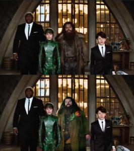 Confronto tra Bombarda Sterro in Artemis Fowl e Hagrid di Harry Potter