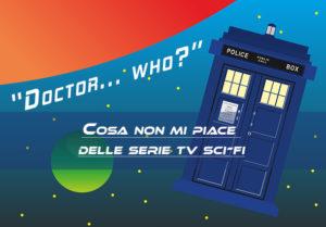 Il Tardis di Doctor Who, una delle più famose serie tv di fantascienza prodotte dalla Bbc
