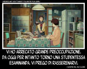 Con i cinema aperti, potremmo anche sognare un ritorno dei film dello studio Ghibli