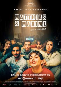 La locandina di Matthias & Maxime (Credits: Lucky Red)