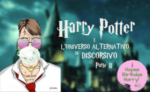 E se Harry Potter avesse scelto Serpeverde? La copertina del nostro articolo sull'universo alternativo di Discorsivo