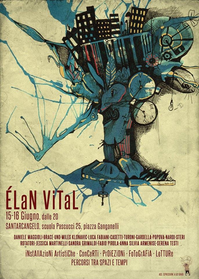 Elan Vital: torna a Santarcangelo la seconda edizione dell'evento in cui l'arte è espressa in tutte le sue forme