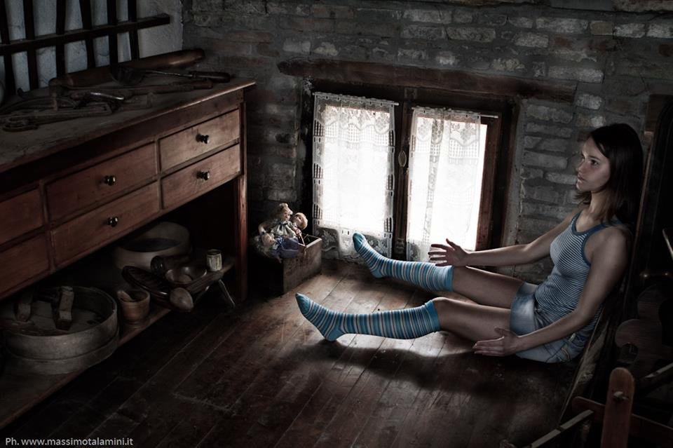 """La """"luna"""" crescente dal cassetto alla bambola"""