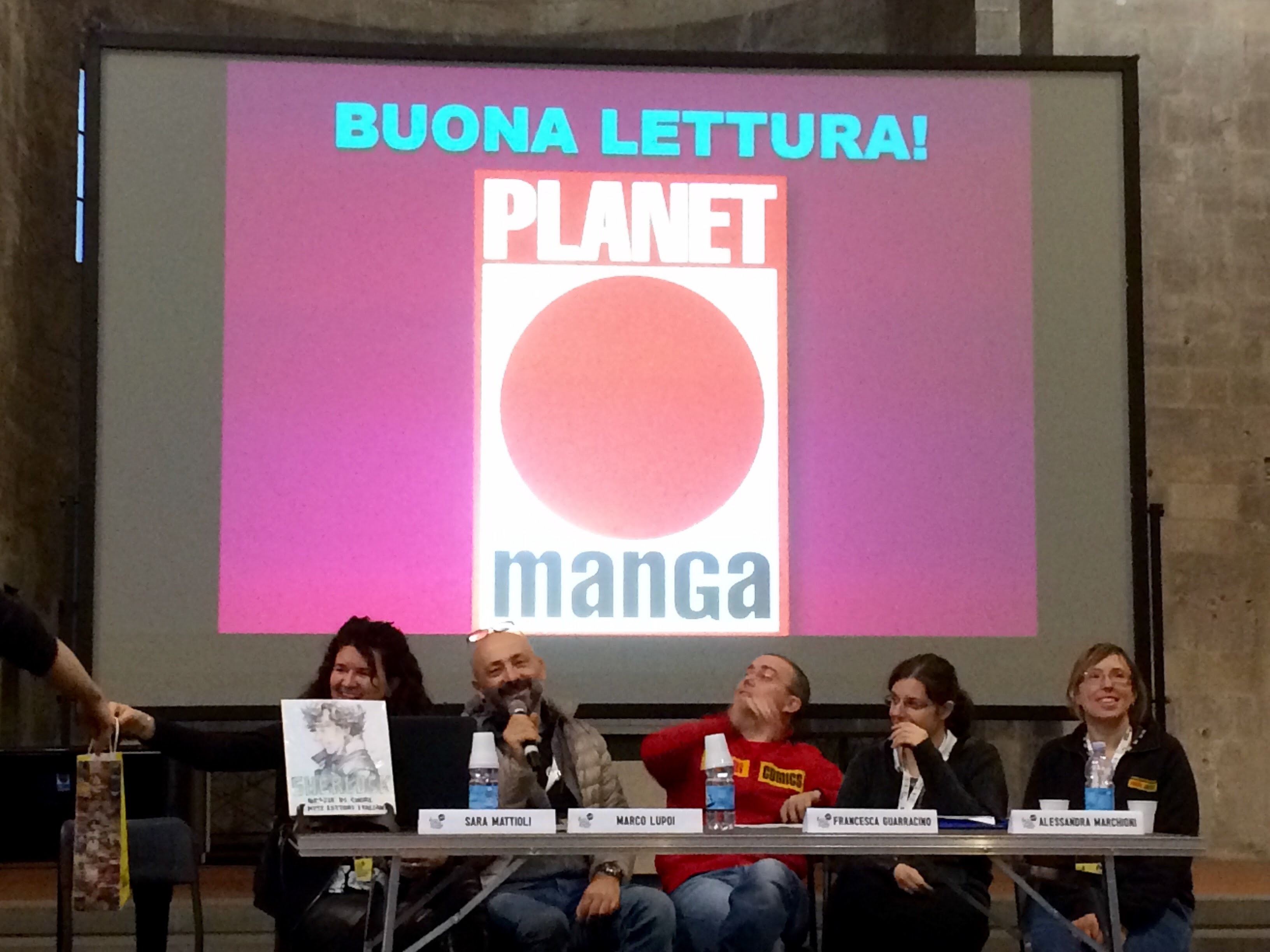 Lucca C&G 2016 – Waking Up