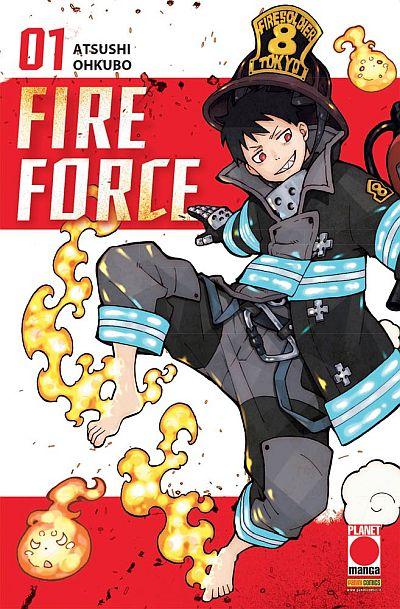 I pompieri demoniaci di Fire Force
