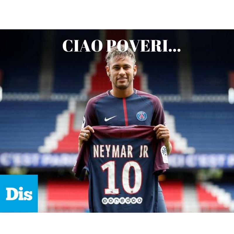 Barcellona-PSG e l'affare Neymar. 222 milioni di buoni motivi