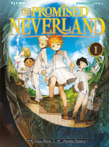 The Promised Neverland, orfani ribelli contro un mondo mostruoso