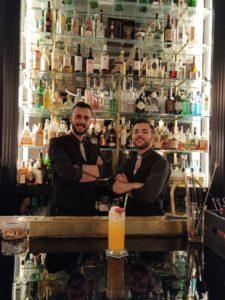 autori del drink ispirato ai film trazer's fizz
