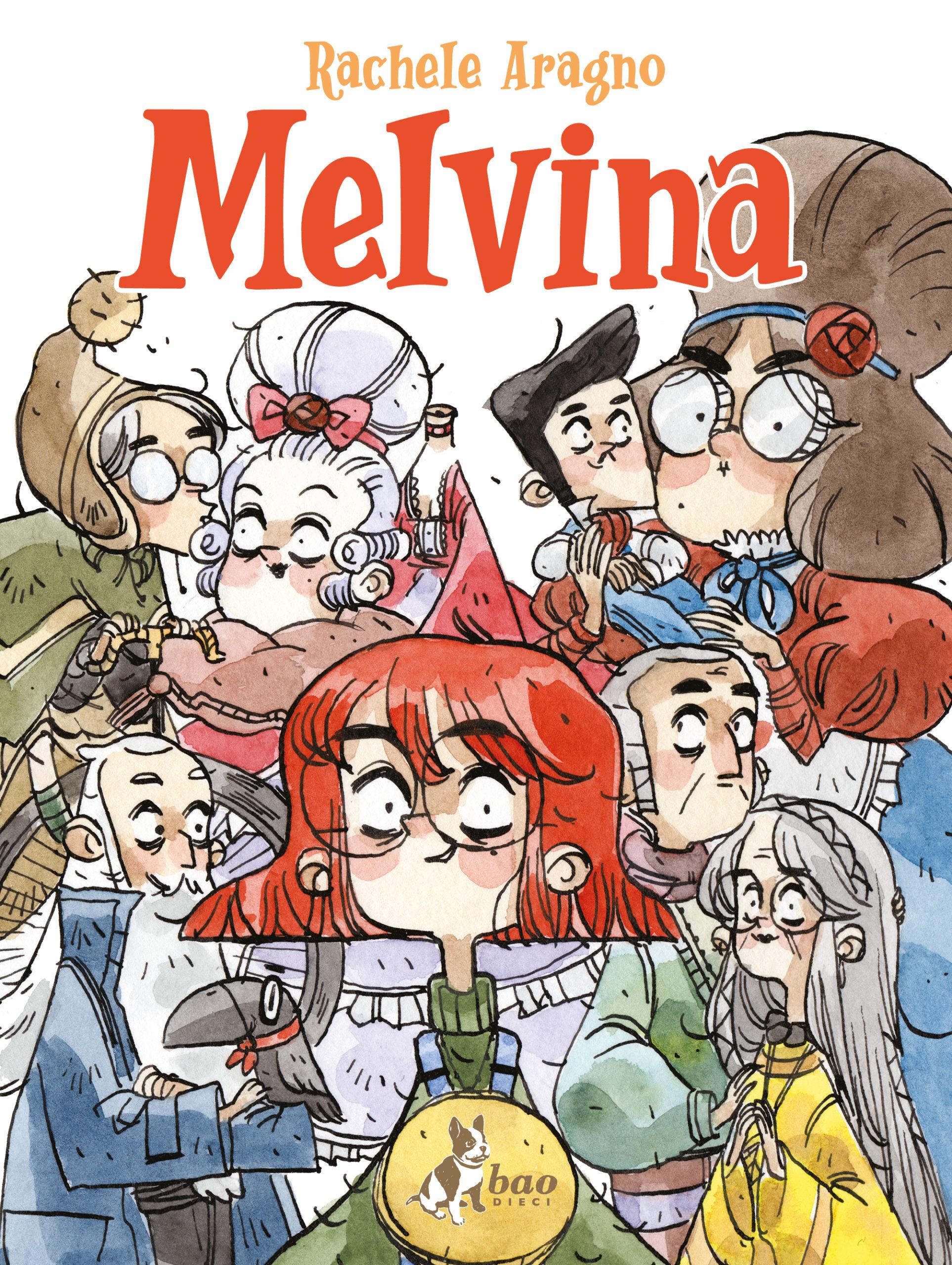 Melvina, il magico mondo di Rachele Aragno