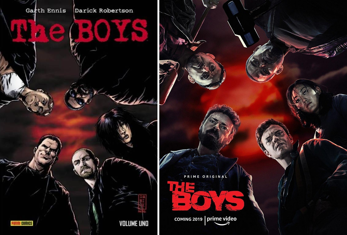 The Boys serie tv vs fumetto – Somiglianze e differenze